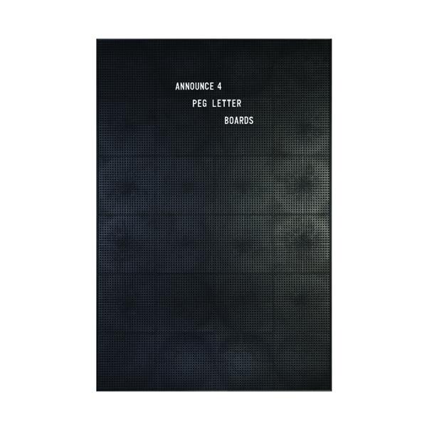 Announce Peg Letter Board 920x615mm 1/ECON-4/VC/EC-KIT692