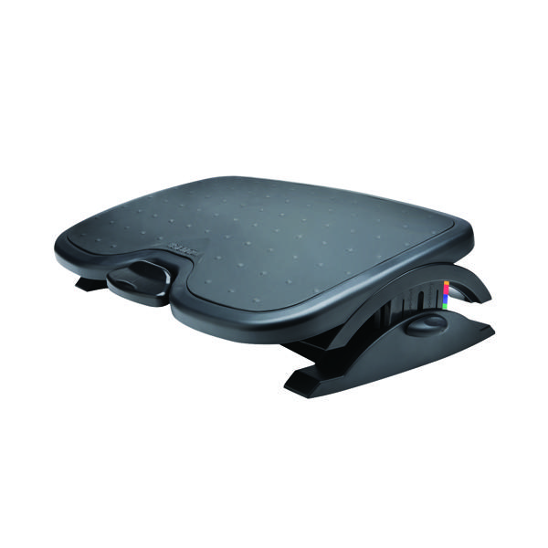 Kensington SoleMate Plus Foot Rest Black with Angle Incline K52789WW