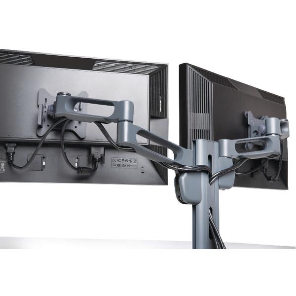 Kensington SmartFit Dual Monitor Arm Grey K60273WW