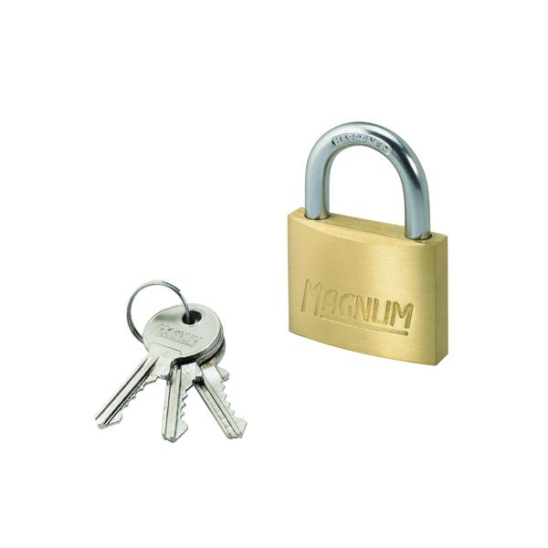 Master Lock Magnum Padlock 50mm Brass 40044