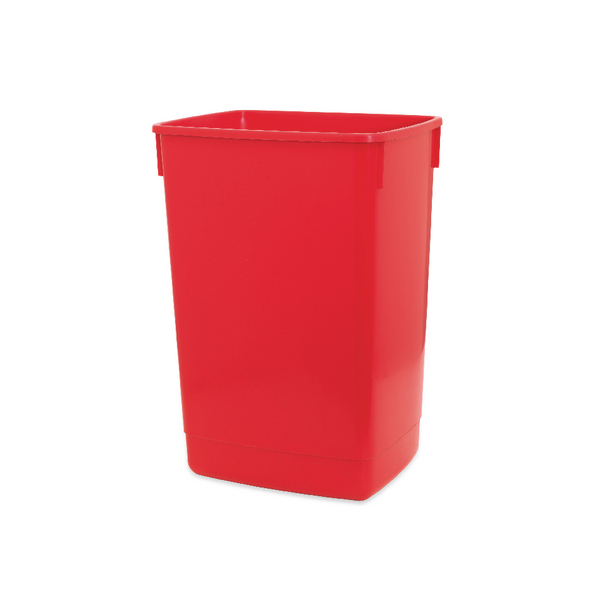 Addis 60 Litre Flip Top Bin Base Red 510899