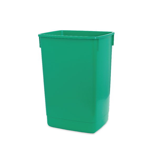 Addis 60 Litre Flip Top Bin Base Green 510817