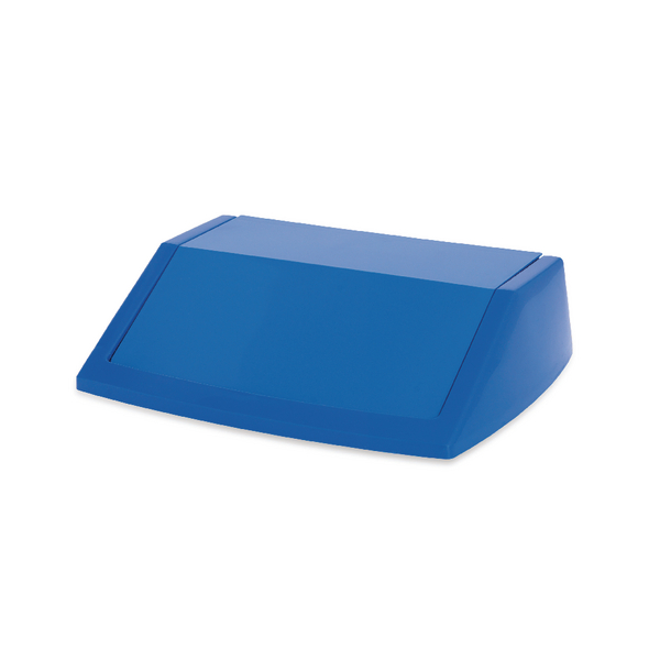 Addis 60 Litre Fliptop Bin Lid Blue 512570