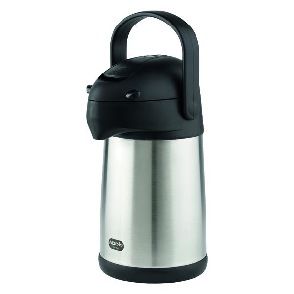 Addis Chrome President Pump Pot Vacuum Jug 2 Litre 637201600