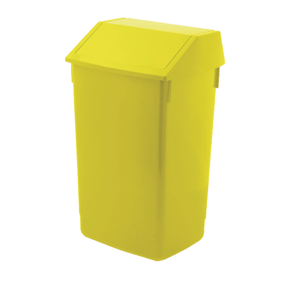 Addis Fliptop Bin 60 Litre Yellow AG813423