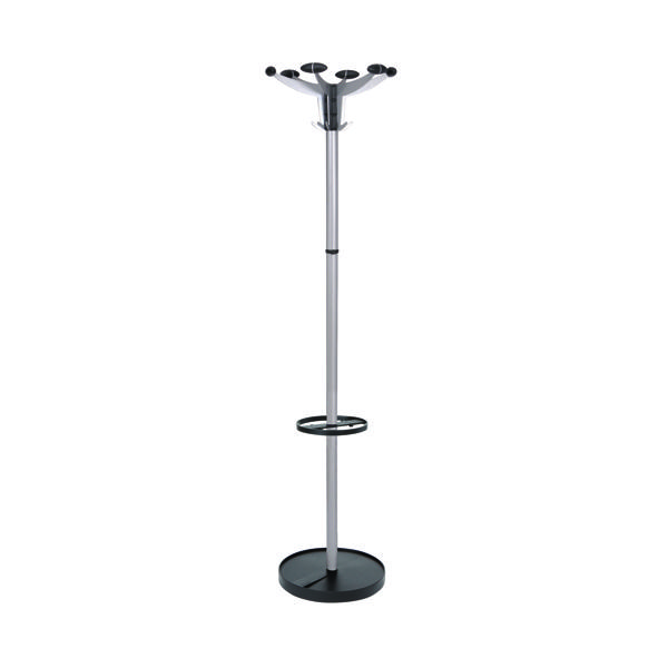 Alba Sevilla Coat Stand Chrome/Black PMSEV