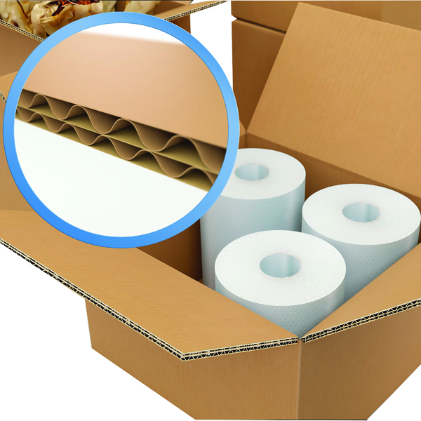 Double Wall Corrugated Dispatch Cartons 457x457x305mm Brown (Pack of 15) 59189