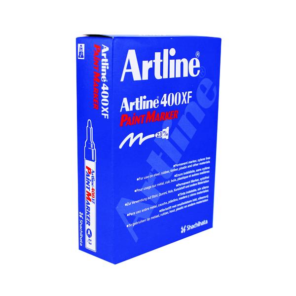 Artline 400 Bullet Tip Paint Marker Medium Yellow (Pack of 12) A4006