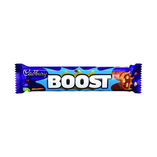 Cadbury Boost 48.5g per Bar, No Artifical Colours (Pack of 48) 100129