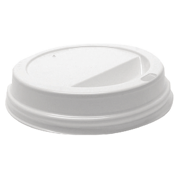 MyCafe Lids 12oz White For use with Ripple Walled Hot Cups (Pack of 1000) MXPWL80CASE