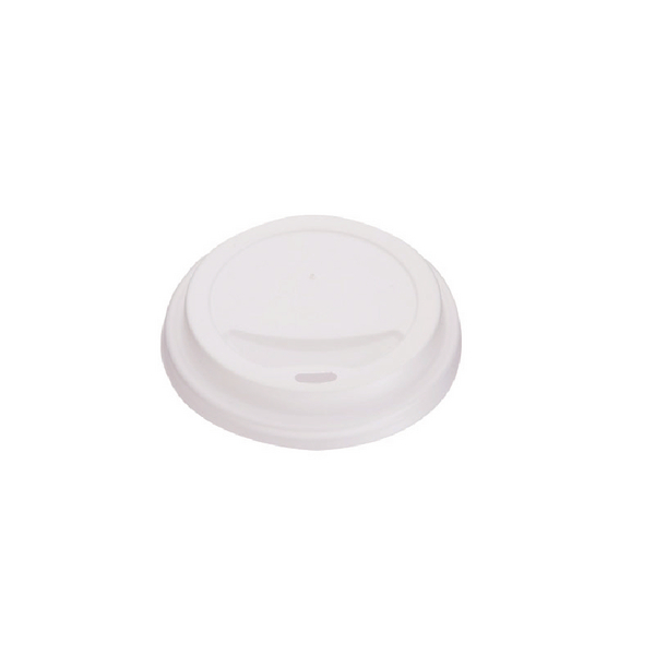 MyCafe Lids 8oz White For use with Ripple Walled Hot Cups (Pack of 1000) MXPWL90CASE