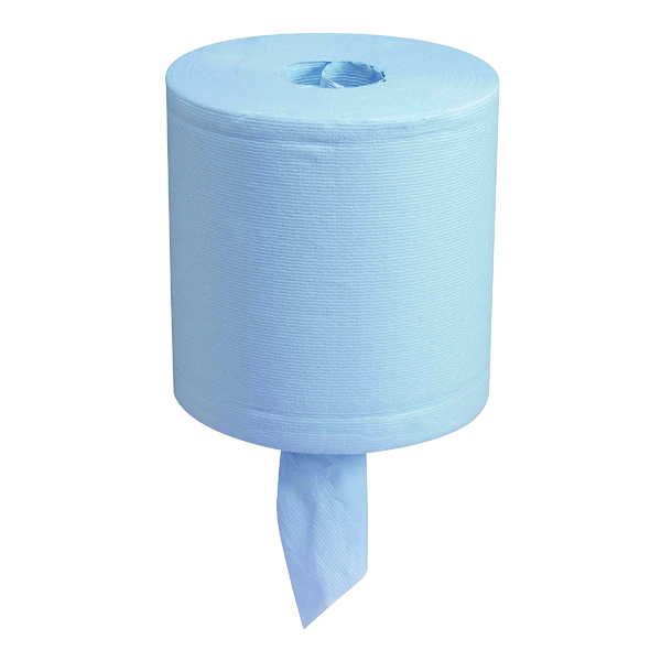 Wypall L20 Centrefeed Wiper Roll Blue 7302