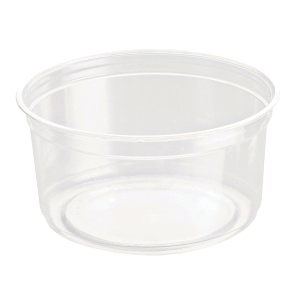 Caterpack Biodegradable rPET DeliGourmet Food Container 12oz (Pack of 50)  RY10580 / DM12R