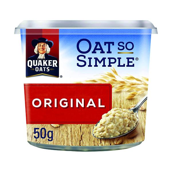 Oat So Simple Original Porridge Pot 50g (Pack of 8) 199985