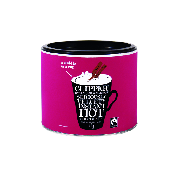 Clipper Organic Fairtrade Hot Chocolate 1kg A06793
