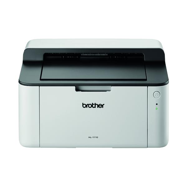 Brother Mono Laser Printer Light Grey/Dark Grey HL-1110ZU1