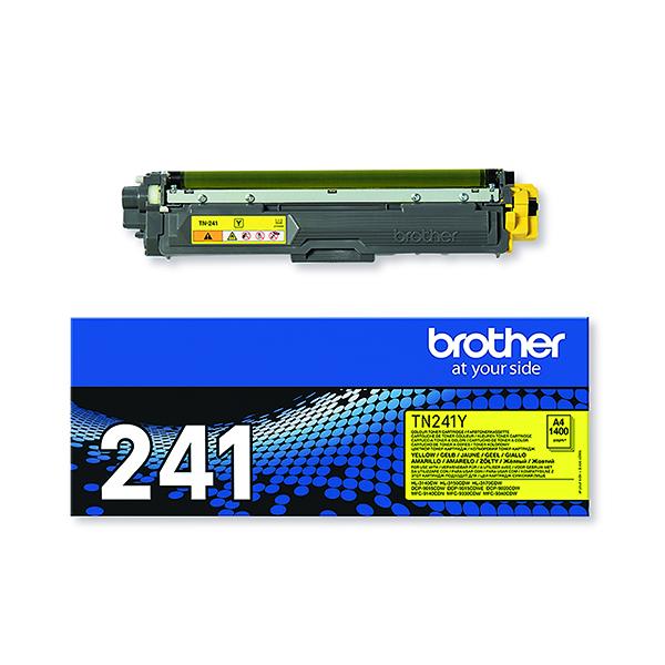 Brother TN-241Y Yellow Laser Toner Cartridge TN241Y