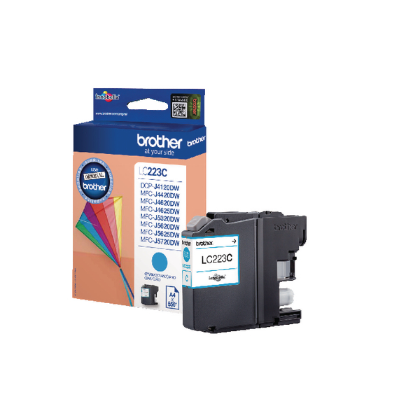 Brother LC223C Cyan Inkjet Cartridge LC-223C