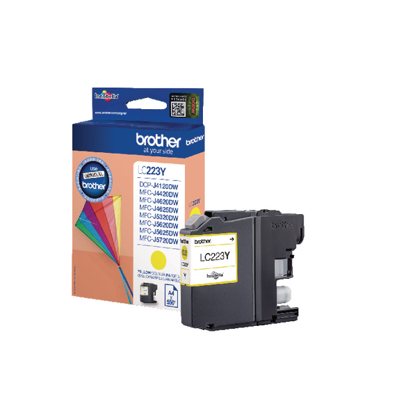 Brother LC223Y Yellow Inkjet Cartridge