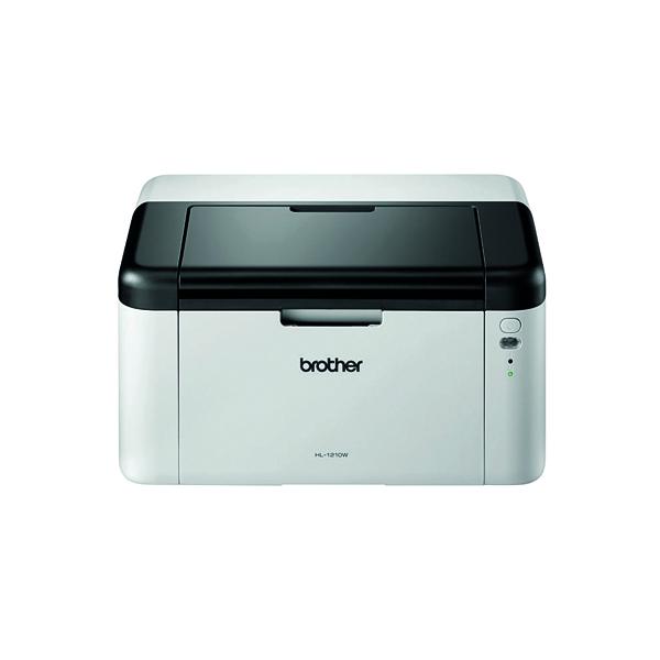 Brother HL-1210W Mono Laser Printer Wireless White HL1210WZU1