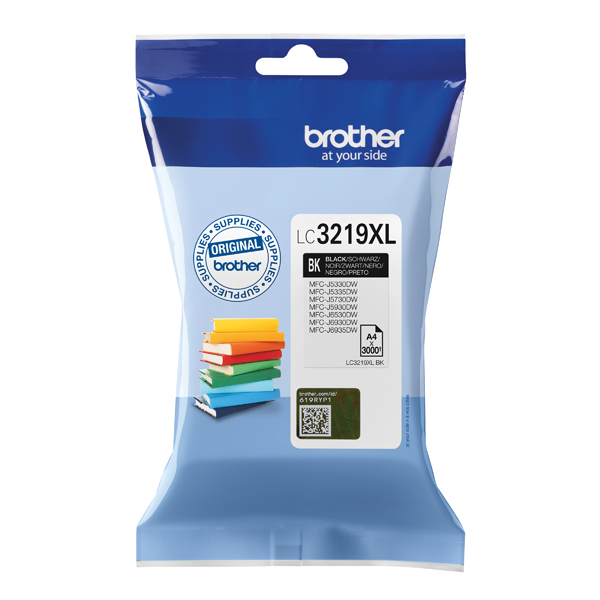 Brother High Yield Black Inkjet Cartridge LC3219XLBK
