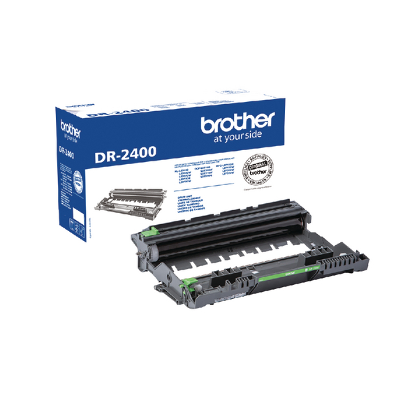 Brother DR-2400 Drum Unit (12,000 Page Capacity) DR2400