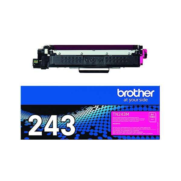 Brother TN-243M Magenta Toner Cartridge TN243M