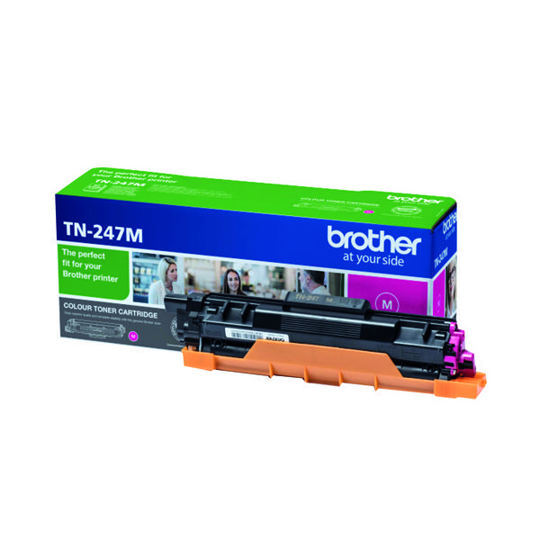 Brother TN-247M High Yield Magenta Toner Cartridge TN247M