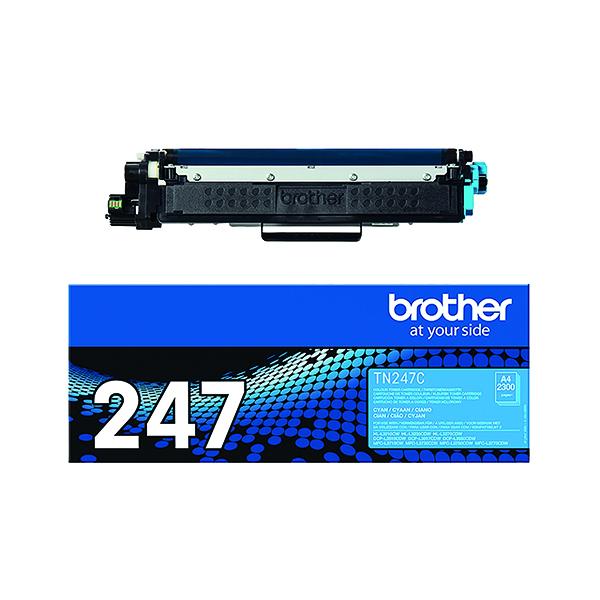 Brother TN-247C High Yield Cyan Toner Cartridge TN247C