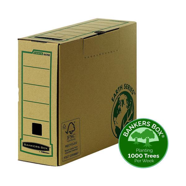 Fellowes R-Kive Earth Transfer File Brown (Pack of 20) 4470201