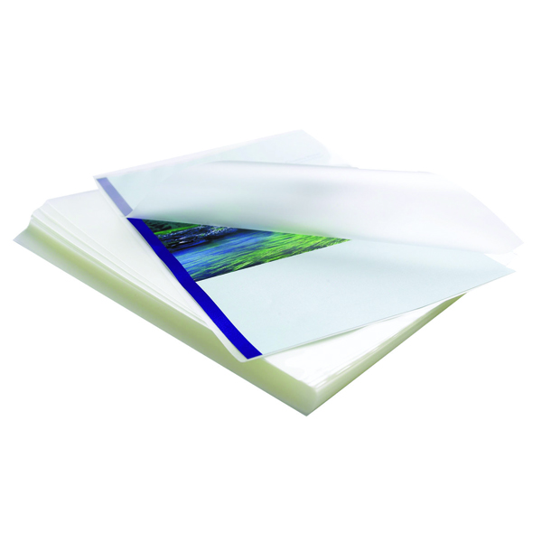 Fellowes Apex A3 Medium Laminating Pouches Clear (Pack of 100) 6003401