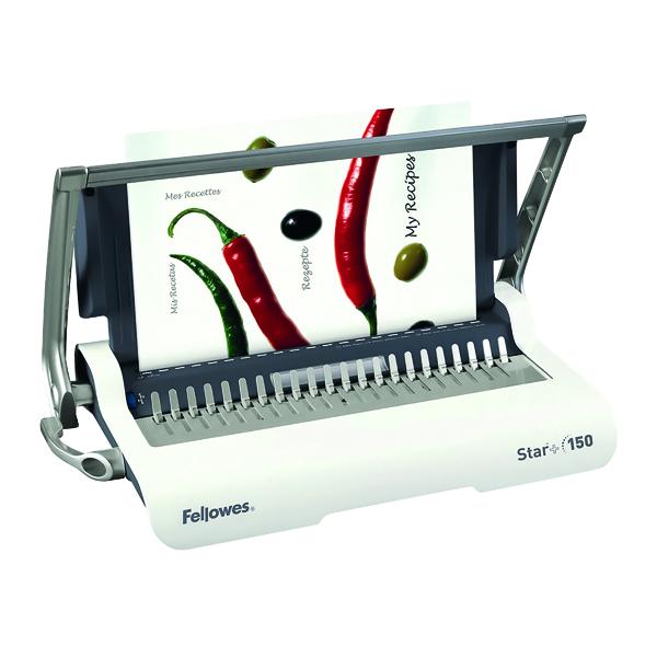 Fellowes Star A4 Manual Comb Binding Machine 5627501