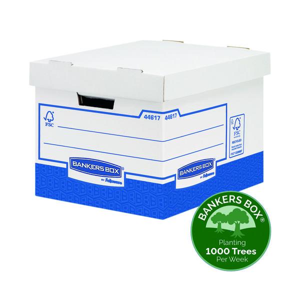 Fellowes Basics Heavy Duty Storage Box Standard (Pack of 10) BB72105