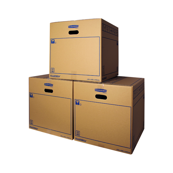Bankers Box SmoothMove Standard Moving Box 446x446x446mm (Pack of 10) 6207401