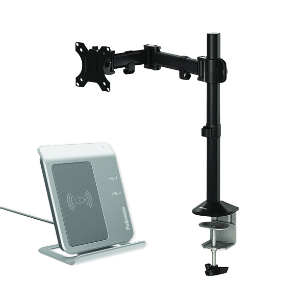 Fellowes Reflex Single Monitor Arm 8502501