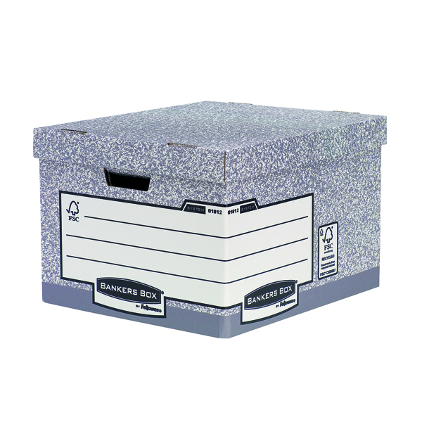 Fellowes Heavy Duty Bankers Box Large Buy 1 Get 1 Free BB810475