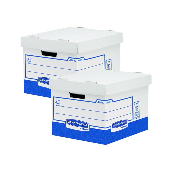 Fellowes Basics Standard Storage Box (Pack of 10) BOGOF BB810580