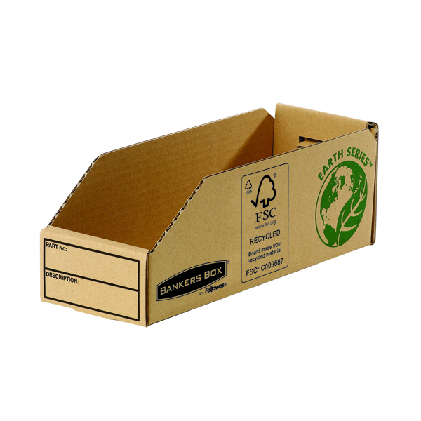 Fellowes Earth Series Parts Bin 98mm (Pack of 50) 7353