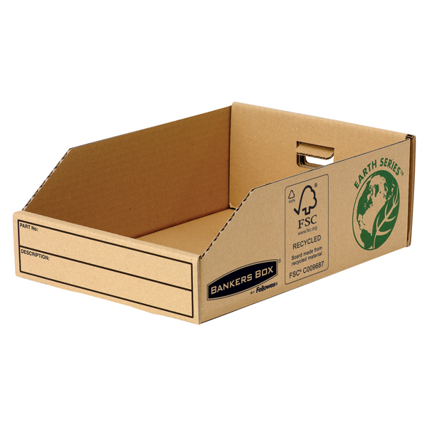 Fellowes Earth Series Parts Bin 200mm (Pack of 50) 7355