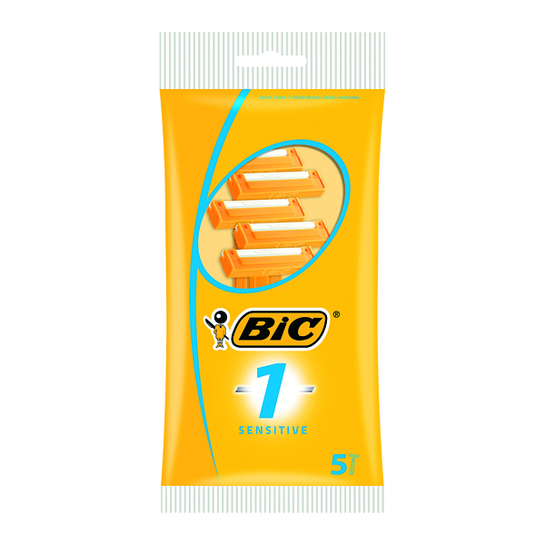Bic 1 Sensitive Single Blade Shavers (Pack of 200) 838521