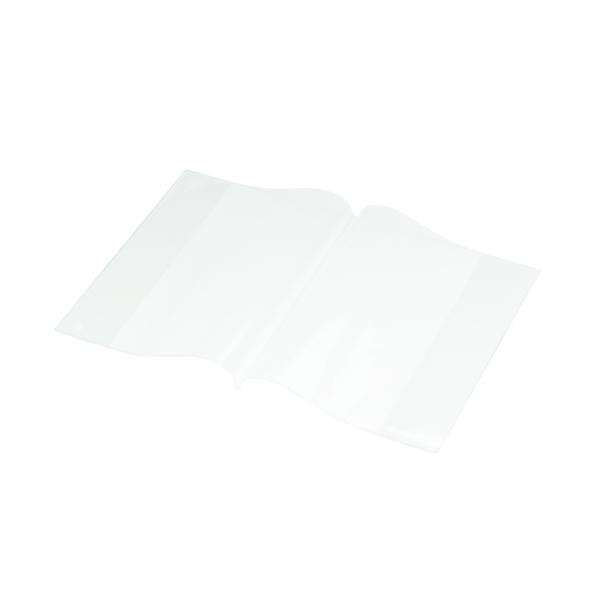 Bright Ideas PVC Book Cover Clear A5 250 Micron (Pack of 10) BI9001