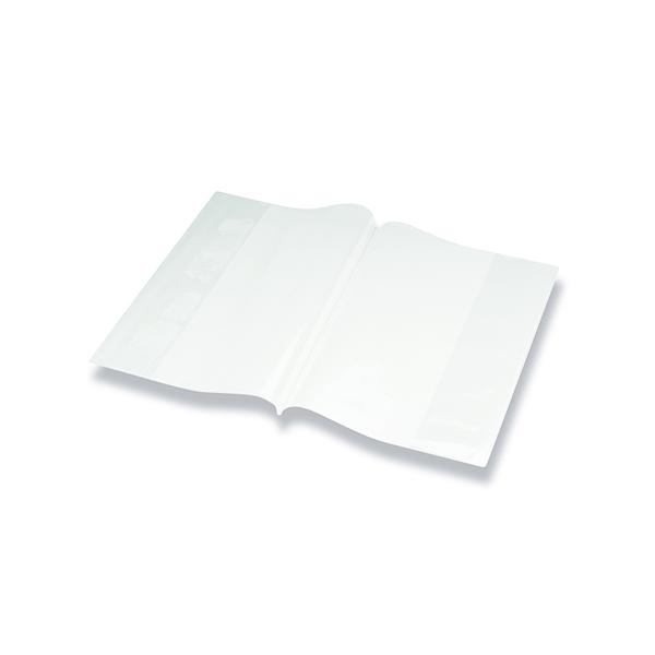 Bright Ideas PVC Book Cover Clear A4 250 Micron (Pack of 10) BI9000