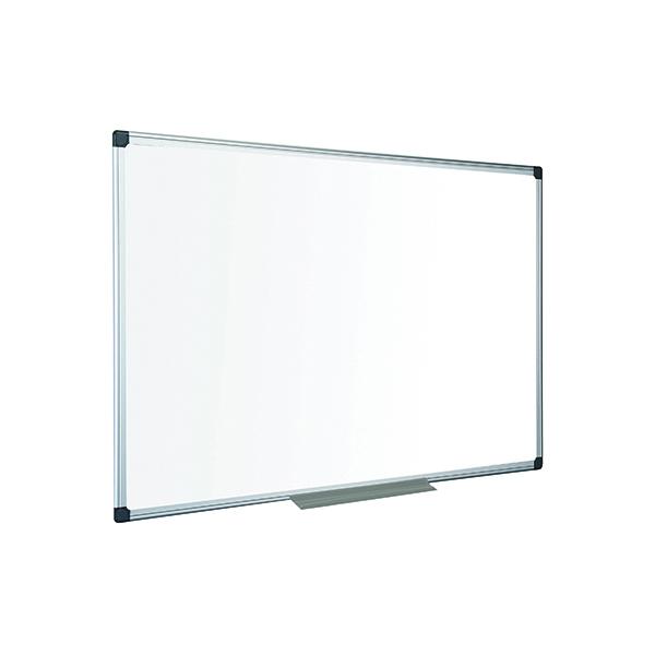 Bi-Office Maya Non-Magnetic Melamine Whiteboard 1500x1000mm MA1512170