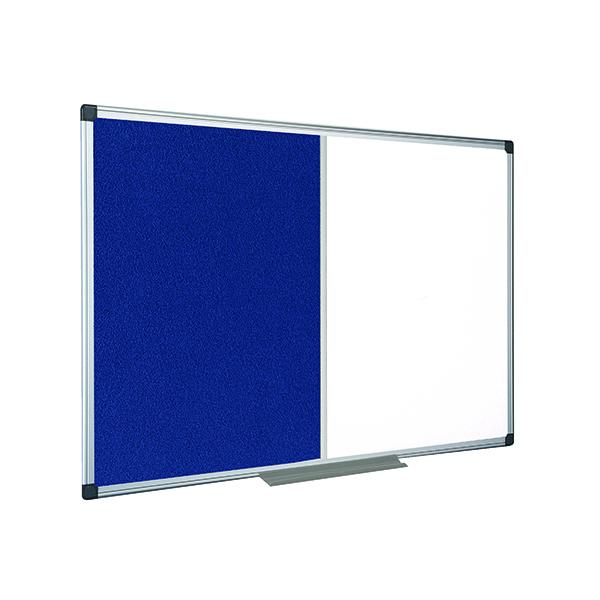 Bi-Office Drywipe and Felt Combination Board 1200x900mm XA0522170