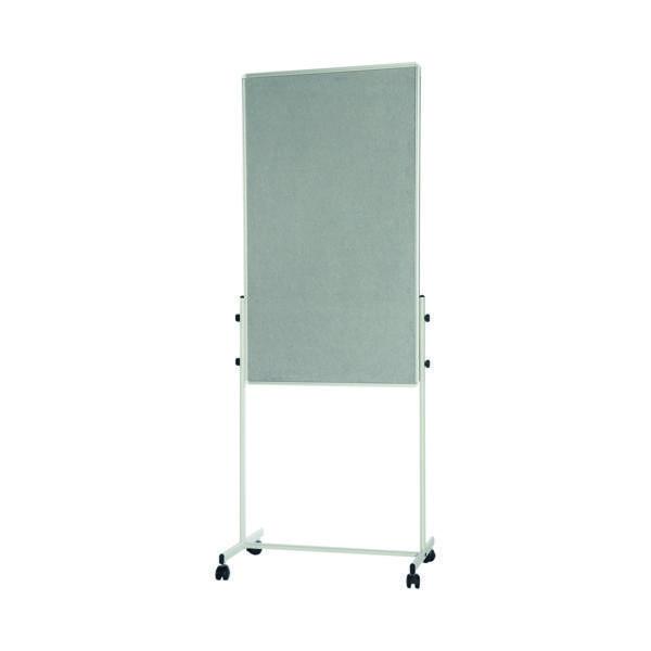 Bi-Office White Portable Duo Board and Flipchart Easel EA4724075