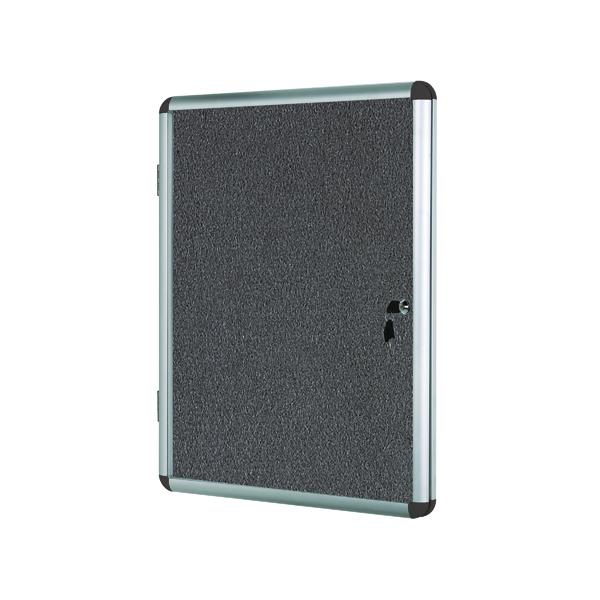 Bi-Office Internal Display Case 600x900mm Grey VT630103150