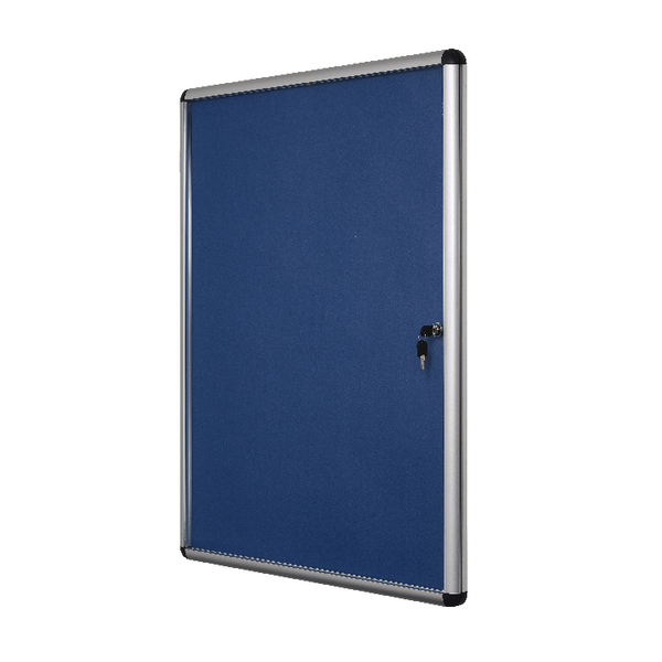 Bi-Office Lockable Internal Display Case 1110x930mm Blue VT640107150