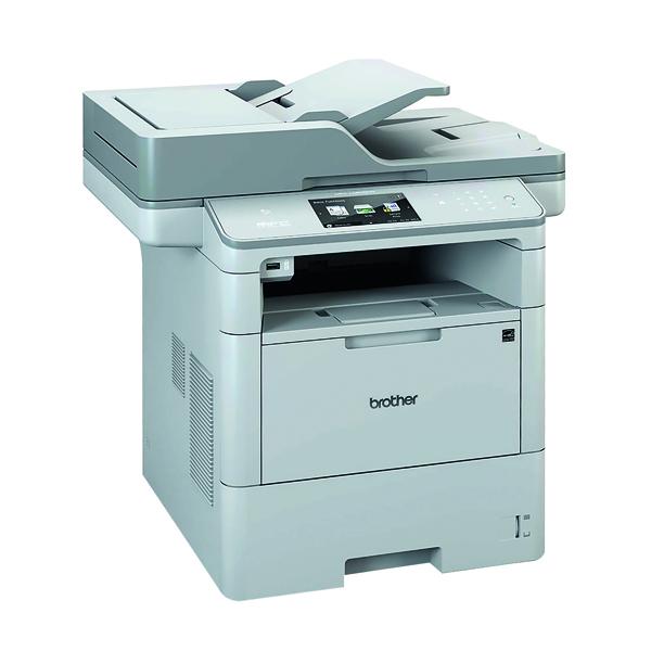 Brother Mono MFC-L6800DW Grey Multifunction Laser Printer MFC-L6800DW