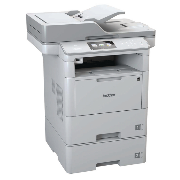 Brother Mono MFC-L6800DWT Grey Multifunction Laser Printer MFC-L6800DWT