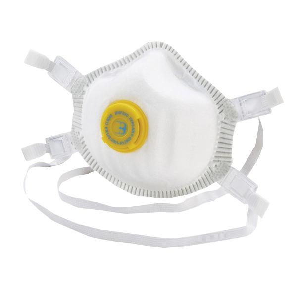 5 x B-Brand P3 Premium Vented Mask (Dolomite clogging tested) BBP3VD